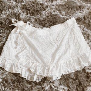 Forever 21 Shorts - ✨Forever 21 Plus Eyelet Lace Wrap Skirt